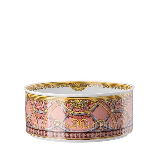 versace bowl 19 cm scala del palazzo rose