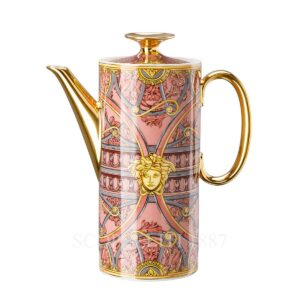 versace coffee pot scala del palazzo rose