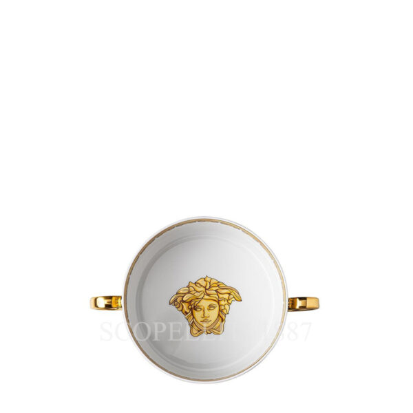 versace creamsoup with saucer scala del palazzo green 01