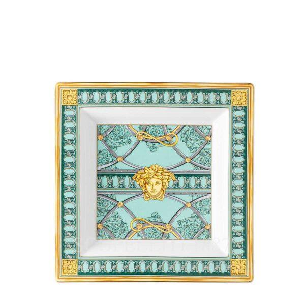versace dish 22 cm scala del palazzo green
