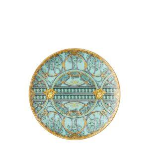 versace plate 21 cm scala del palazzo green