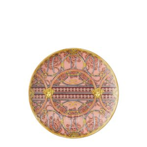 versace plate 21 cm scala del palazzo rose
