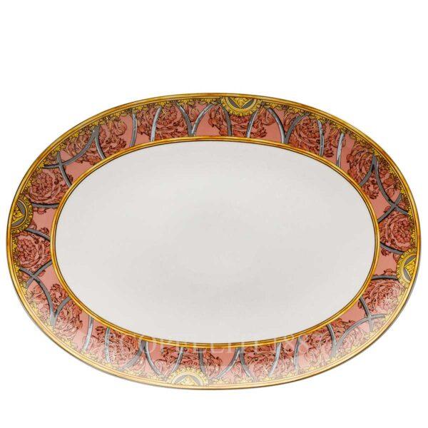versace platter 38 cm scala del palazzo rose