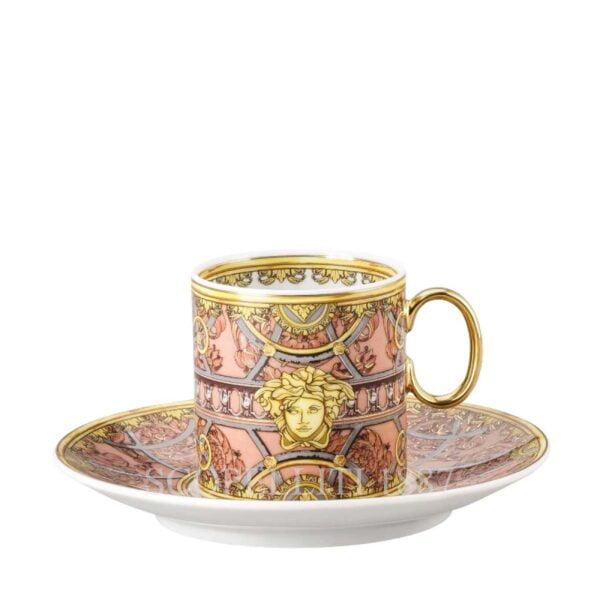 versace scala del paalazzo coffee cup rose