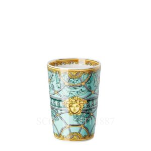 versace table light with scented wax scala del palazzo green 01