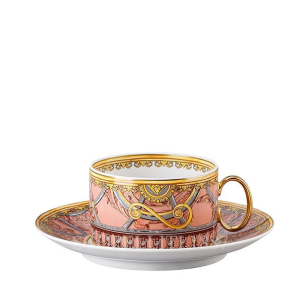 versace tea cup and saucer scala del palazzo rose