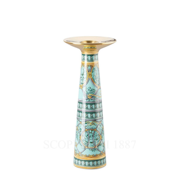 versace vase_candleholder 25 scala del palazzo green