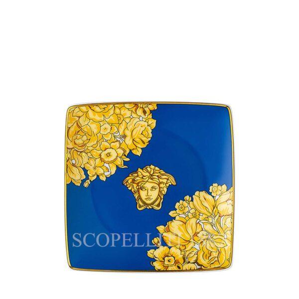 versace bowl 12 cm square flat medusa rhapsody blue
