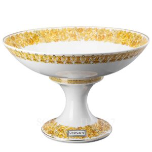 versace bowl on foot 35 cm medusa rhapsody