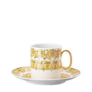 versace coffee cup and saucer medusa rhapsody