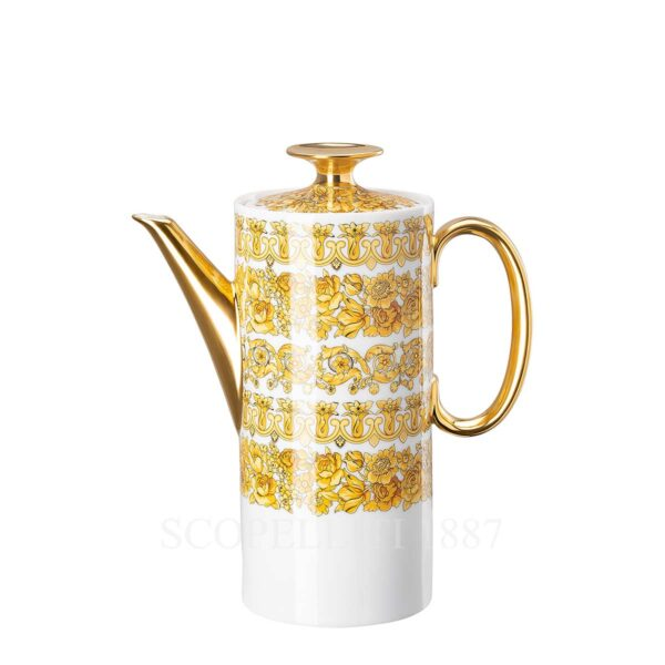 versace coffee pot medusa rhapsody