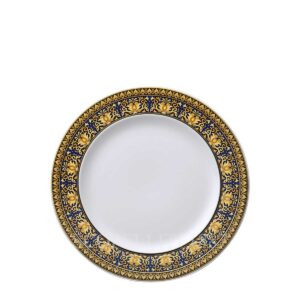 versace dessert plate 22 cm medusa blue