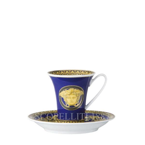 versace espresso cup and saucer medusa blue