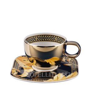 versace espresso cup and saucer square vanity