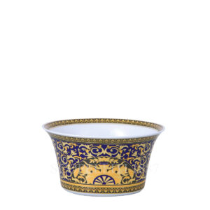 versace salad bowl medium medusa blue