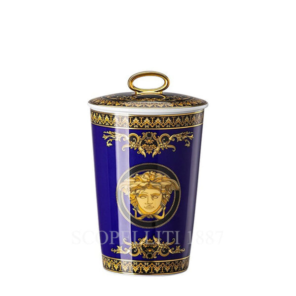 versace scented candle medusa blue