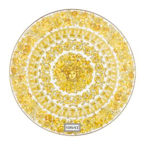 versace service plate 33 cm medusa rhapsody