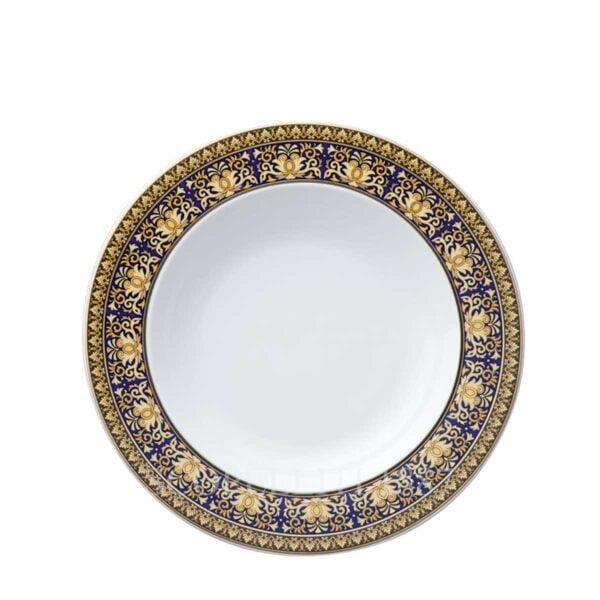 versace soup plate 22 cm medusa blue