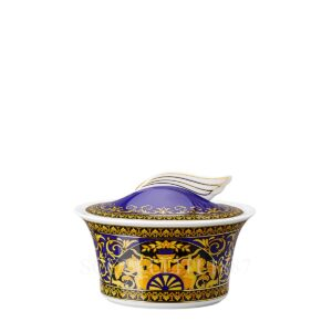versace sugar bowl medusa blue