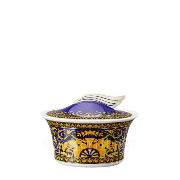 versace sugar bowl medusa blue