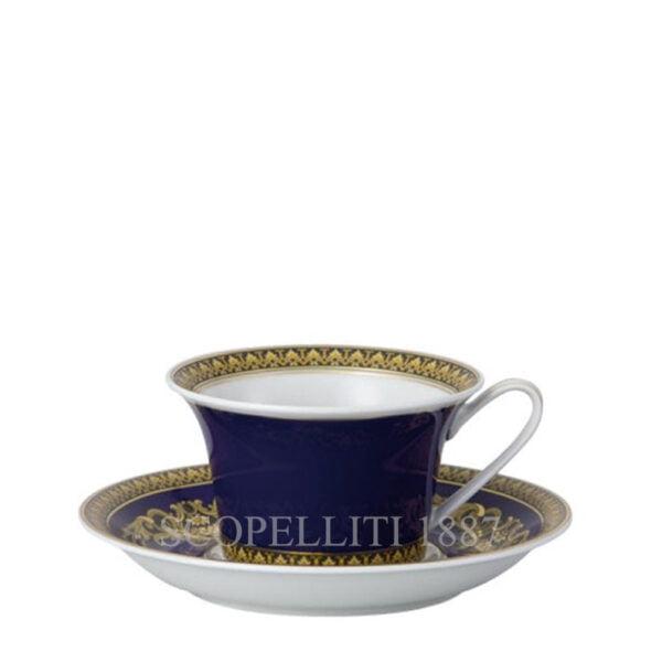 versace tea cup and sauce medusa blue
