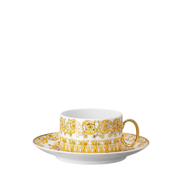 versace tea cup and saucer medusa rhapsody