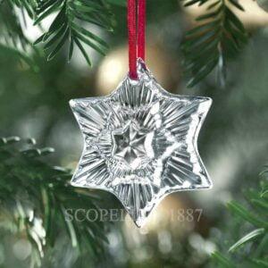 baccarat christmas ornament 2020