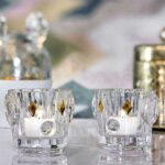 baccarat scented candle holder bird