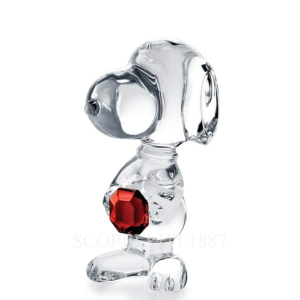 baccarat clear sculpture 2020 snoopy