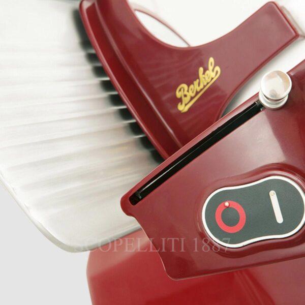 berkel food slicer home line hl200 red 06
