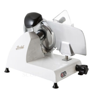 berkel food slicer red line white