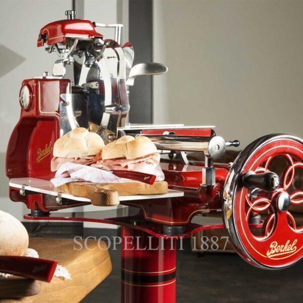berkel volano b3 meat slicer red