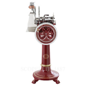 berkel volano l16 meat slicer red with stand