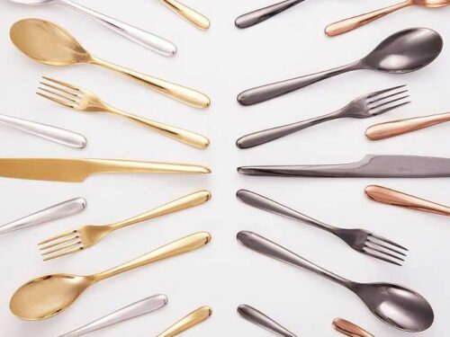 Christofle L'Ame coloured flatware NEW