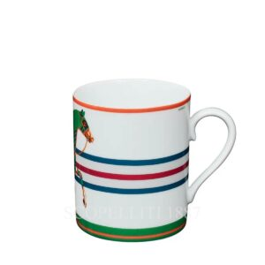 Hermes Cheval la Couverture Green Mug Limited Edition