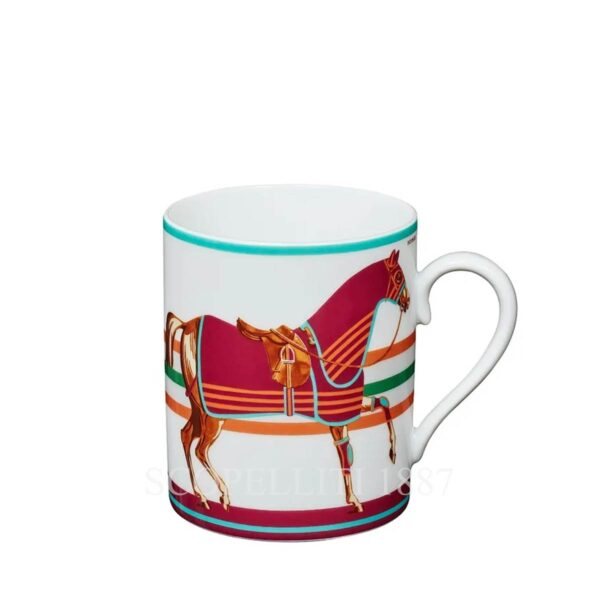 hermes limited edition mug red
