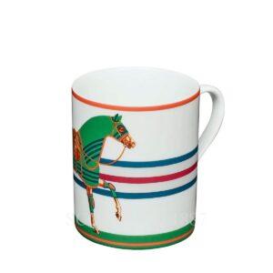 hermes mug green