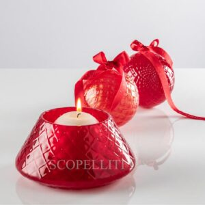 venini christmas collection red gift