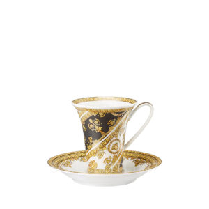 versace coffee cup and saucer i love baroque