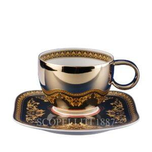 versace combi cup and saucer medusa