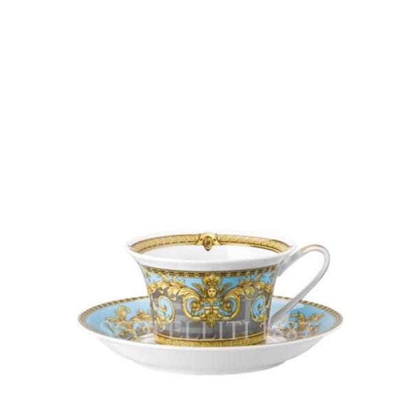 versace tea cup and saucer prestige gala bleu
