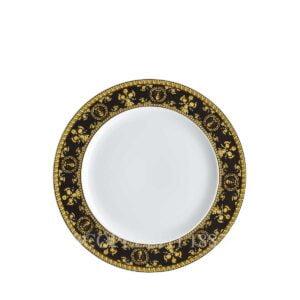 versace dessert plate 22 cm baroque black