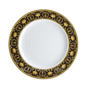 versace dinner plate 27 cm baroque black