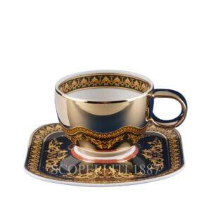 versace espresso cup and saucer gold medusa