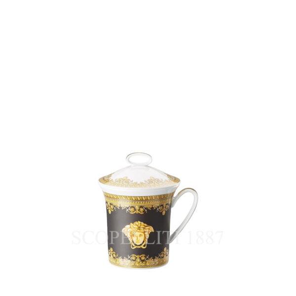 versace mug baroque black
