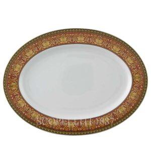 versace oval platter 40 cm medusa