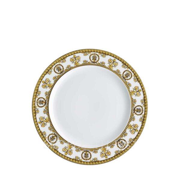 versace plate 22 cm baroque white