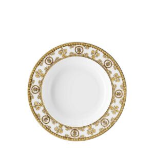 versace plate 22 cm deep baroque white
