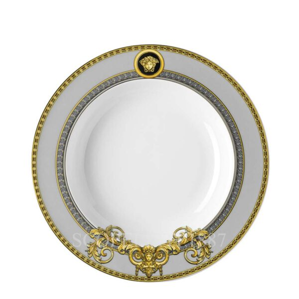 versace plate 22 cm deep prestige gala