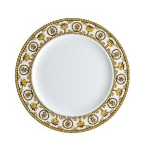 versace plate 27 cm baroque white